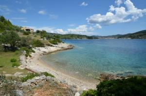 Holiday House Paradise panorama with Vela Luka