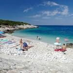 Otok Proizd plaža Vela Luka