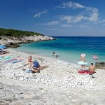 Island Proizd beach Vela Luka