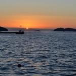 Sunset in Vela Luka