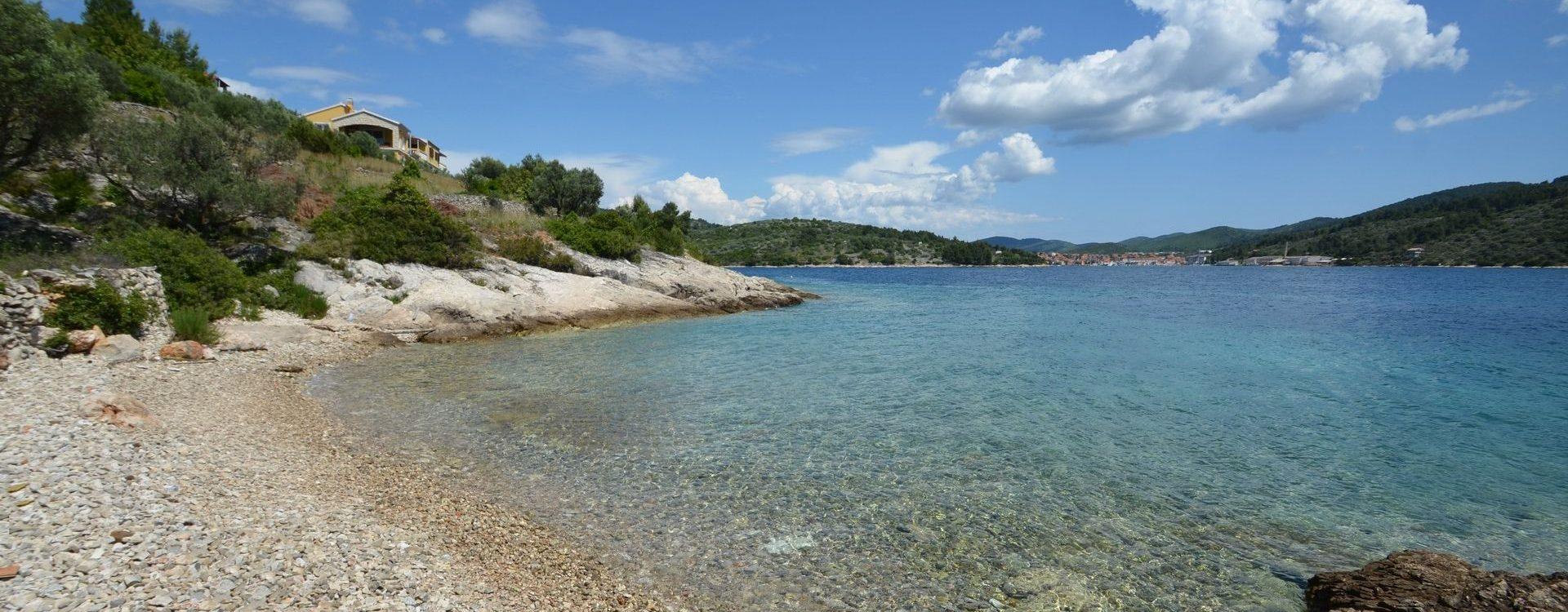Kuća za odmor pored Vele Luke na osami uz more i slikovite plaže